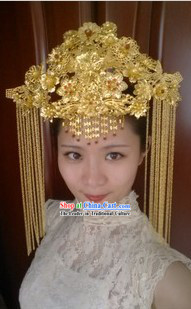 Ancient Chinese Wedding Phoneix Crown for Women