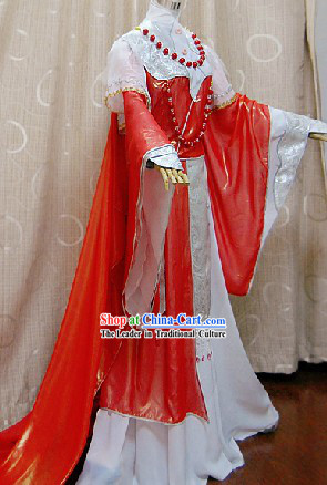 Ancient Chinese Princess Wedding Dress Complete Set for Women