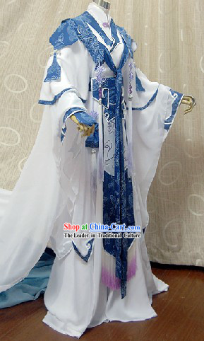 Ancient Chinese Imperial Palace Prince Cosplay Dresses Complete Set