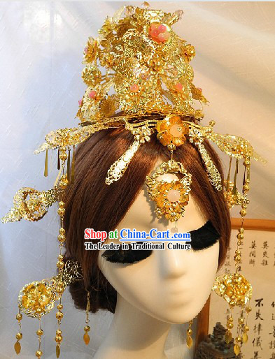 Ancient Traditional Chinese Empress Hair Accessories Complete Set for Women