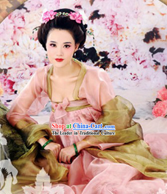 Shang Guan Wan Er Tang Dynasty Imperial Palace Female Official Costumes Complete Set