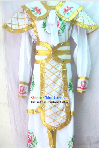 Traditional Chinese Opera Hua Dan Armor Stage Performance Costumes for Women