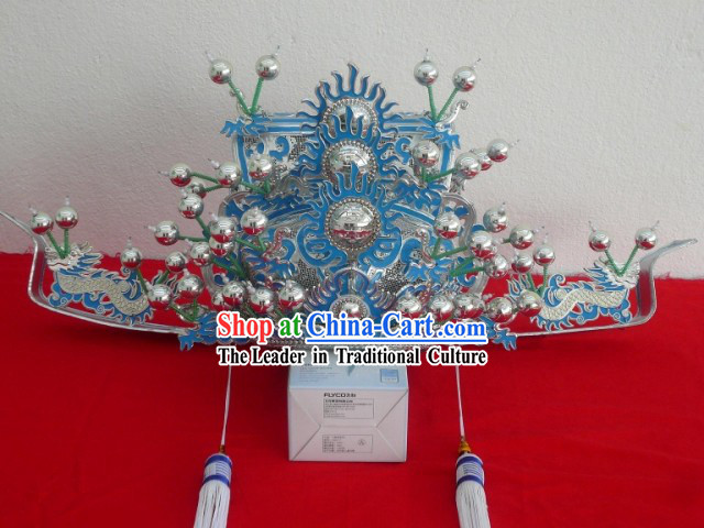 Traditional Chinese Opera Stage Performance Prime Minister Hat
