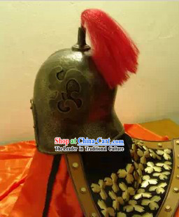 Ancient Chinese Style Knight Helmet