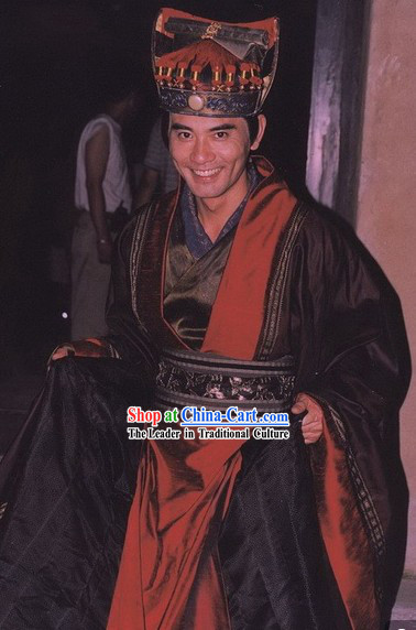 Daming Palace TV Drama Zhao Wenzhuo Tang Dynasty Official Clothes and Headwear