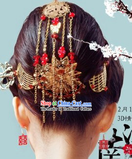 Traditional Chinese Wedding Hair Accessories Complete Set for Brides