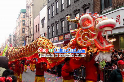 Supreme Chinese Lunar New Year Dragon Dance Costumes Complete Set
