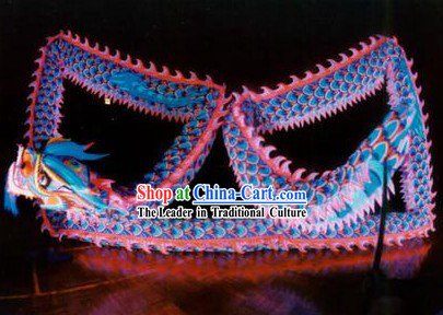 Competition Celebration and Parade Glow in Dark Dragon Dancing Costumes Complete Set