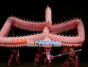 Supreme Happy Events Celebration Fluorescent Dragon Dancing Costumes Complete Set