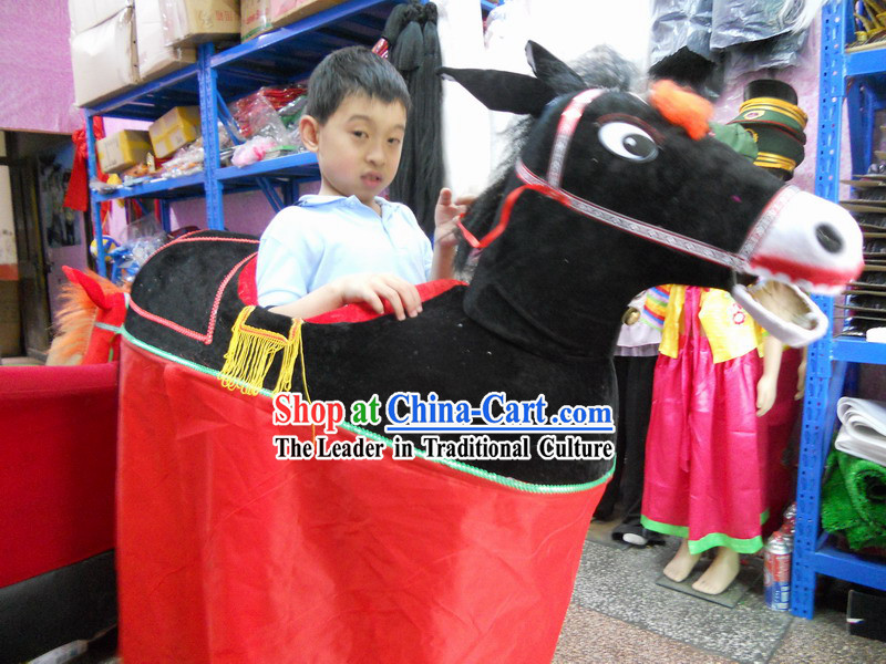 Chinese Lunar New Year Horse Costume for Kids