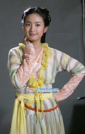 Legend of the Condor Heroes Huang Rong Costume Complete Set
