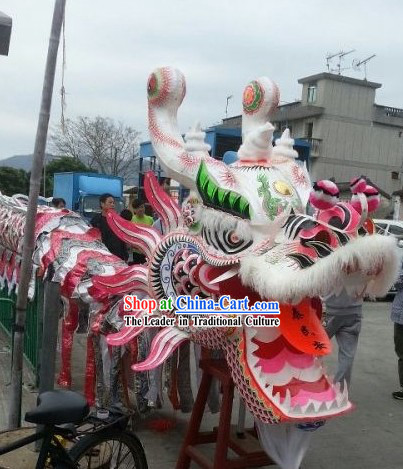 Chinese New Year Festival Ceremony and Business Opening Supreme Dragon Dance Costumes