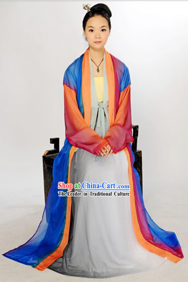 Ancient Chinese Jiang Hu Jacket and Skirt for Women