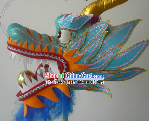 Size 3 Dragon Head for Professional Adult Competition and Parade Use