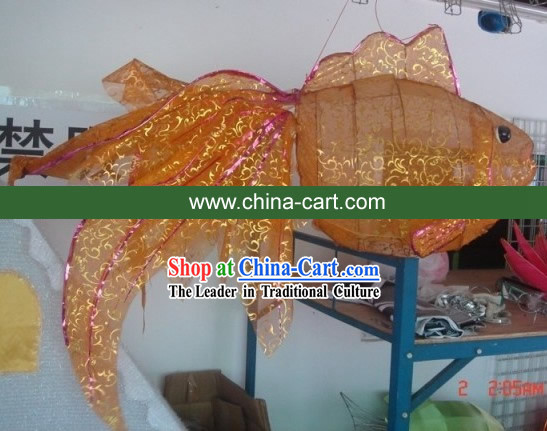 Traditional Chinese New Year Goldfish Carp Lamps