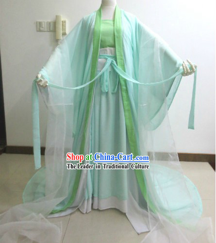 Ancient Chinese Fairy Fei Tian Angel Outfit