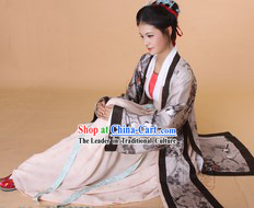 Ancient Chinese Song Dynasty Costumes for Ladies