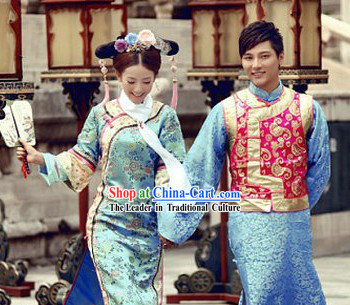 The Return of The Pearl Princess Huan Zhu Ge Ge Costumes 2 Complete Sets