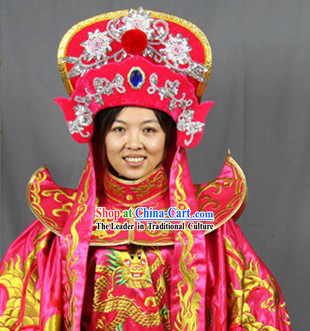 Female Bian Lian Costume Pants Belt Hat and 12 Masks Complete Set