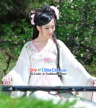 Ancient Chinese Musician Costumes Complete Set