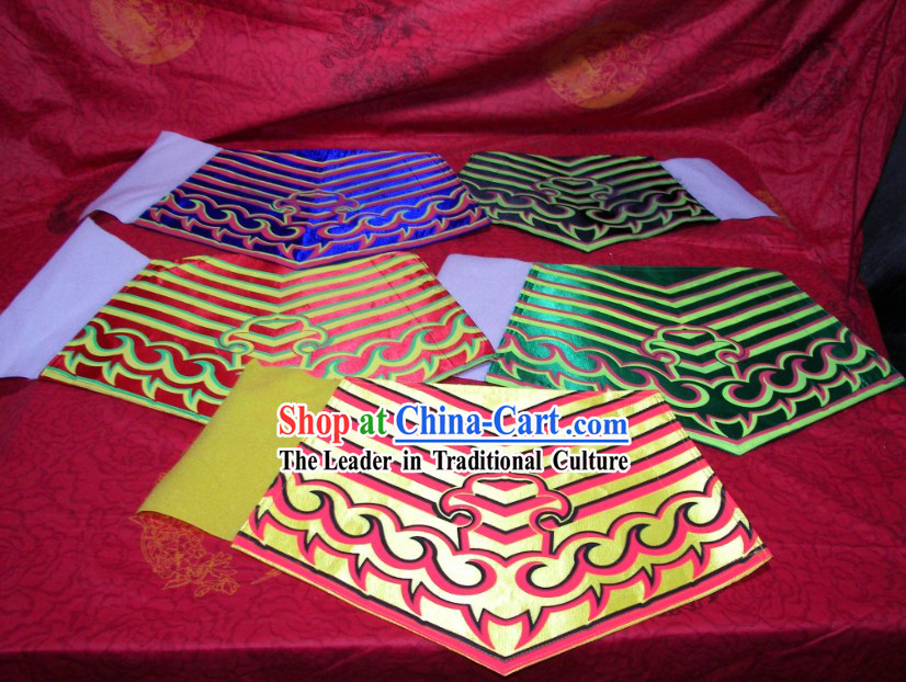 Traditional Chinese Dragon Dance and Lion Dance Pants Leg Wrappings
