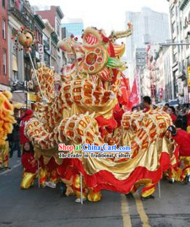 Best Traditional Chinese Festival Celebration Southern Dragon Dance Costumes Complete Set
