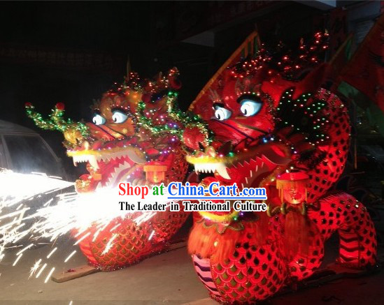 Display Performance and Parade Uses Chinese New Year Dragon Dance Arts and Crafts