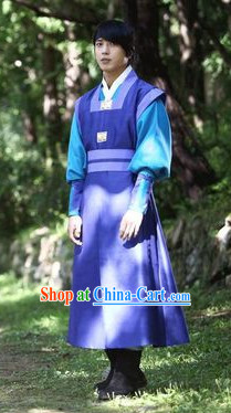 Ancient Korean The Musketeer Swordmen Costumes Complete Set