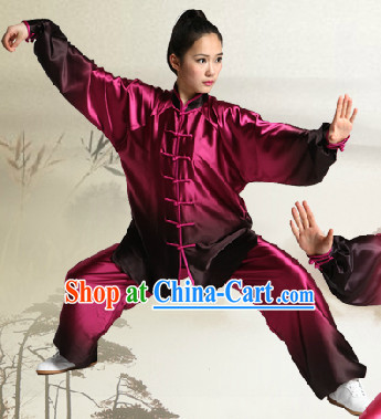 Color Transition Tai Chi Uniform Complete Set