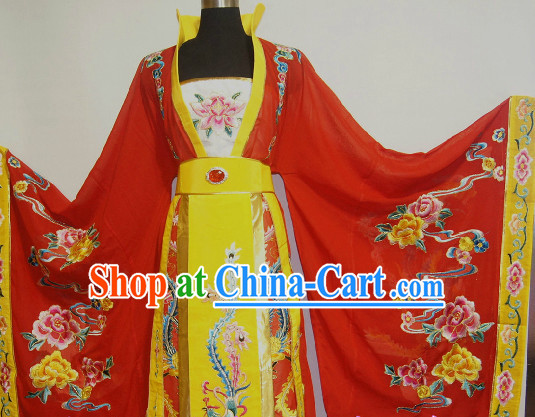 Chinese Stage Performance Princess High Collar Costume