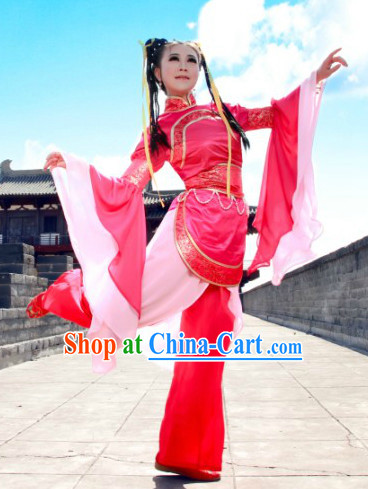Chinese Folk Dance Costumes for School Girls