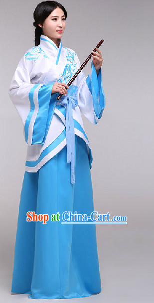 Ancient Chinese National Costumes for Ladies