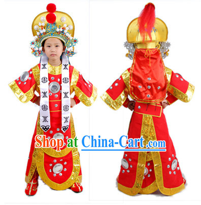 Hua Mulan Costumes and Helmet