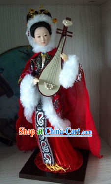 Handmade Beijing Silk Figurine Doll - Ancient Chinese Beauty 3