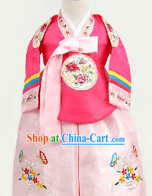 Korean Traditional Hanbok for Kids from 1 Year Old to 15 Years Old