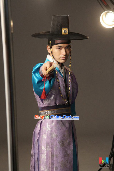 Ancient Korean Male Costumes Complete Set