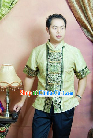 Southeast Asia Traditional Top for Men