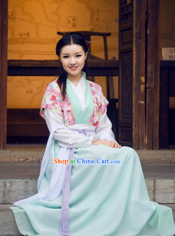 Han Dynasty Wife Clothes