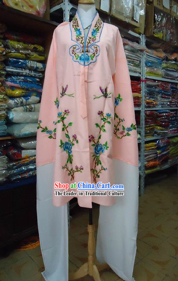 Traditional Chinese Embroidered Flower Long Sleeves