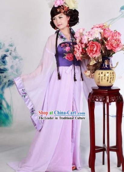 Traditional Chinese Tang Dynasty Lady Dresses