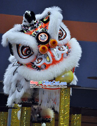 Best Professional Competition Lion Dance Head and Costume Complete Set