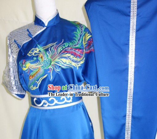 Professional Dragon Dance Competition and Performance Silk Martial Arts Suits for Adults or Children
