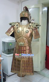 Online Costume Store Military Male Armour Clothes and Helmet Complete Set