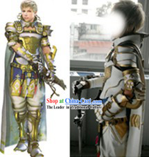 Custom Tailored Cosplay Armor Costumes According to the Customer's Picture