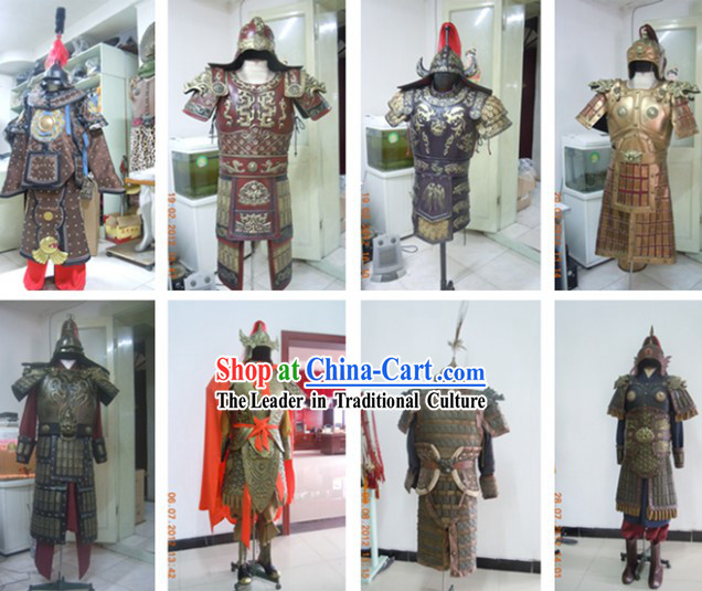Custom Tailored Film and Stage Performance Ancient Armor Costumes According to Your Picture