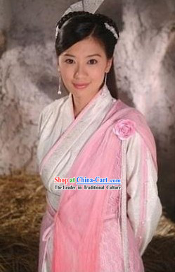 Zhao Min Costumes and Headdress Complete Set