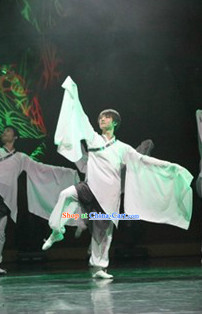 Wide Sleeves Male Classical Dancing Costumes