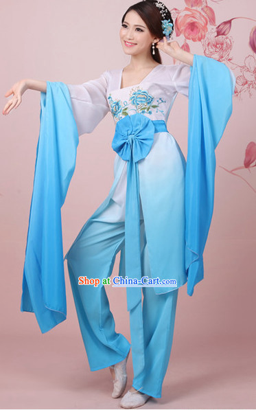 Beautiful Shuixiu Water Sleeve Dance Costumes