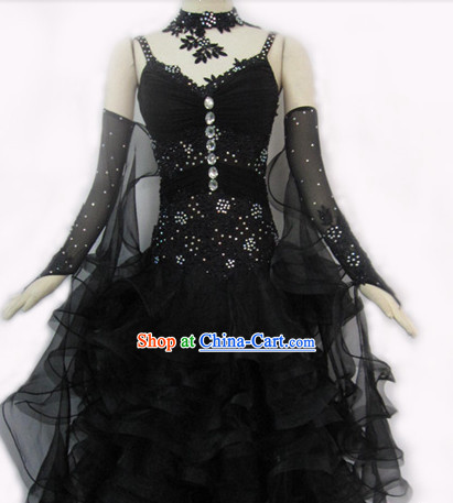 Special Custom Made Latin Waltz Dance Costumes