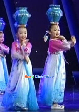 Traditional Korean Dancing Costumes